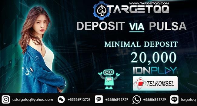 IndoPoker Deposit Pulsa Telkomsel